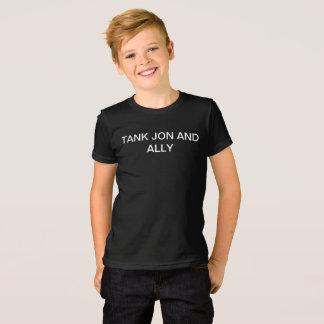Tank, Jon, and Ally Boy's Youth Medium T-Shirt