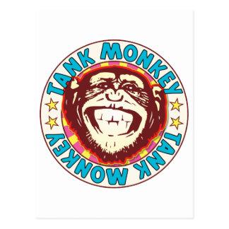 Tank Monkey Postcard