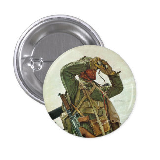 Tank Patrol 3 Cm Round Badge