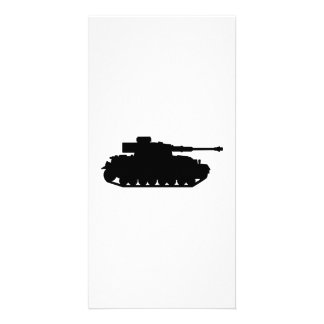 Tank Photo Greeting Card