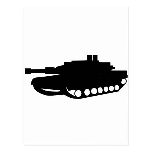 Tank Post Card