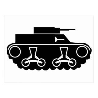 Tank Postcard