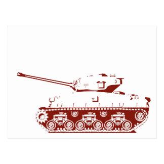 Tank Postcard (red)