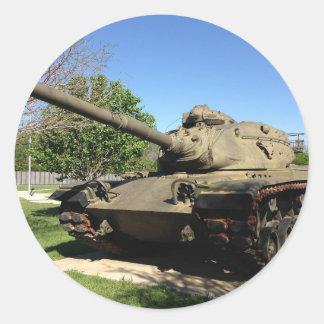 Tank Round Stickers