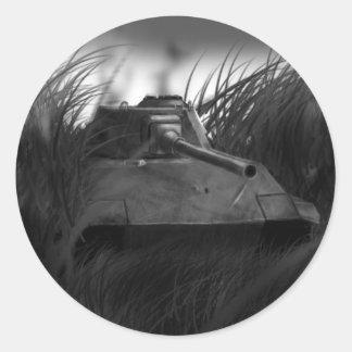 Tank sticker! round sticker