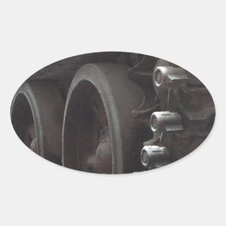 Tank Time Oval Sticker