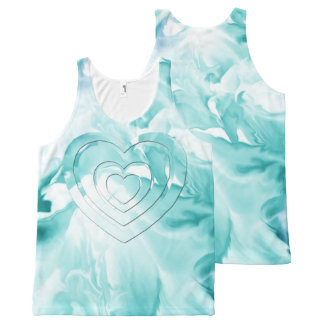 Tank TOP-All Over Printed-Unique Design/Art