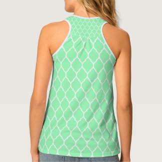 Tank Top: Moroccan Mint Green