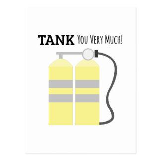 Tank You Postcard