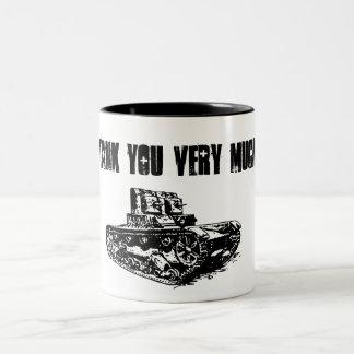Tank You Very Much Mug