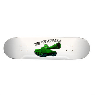 Tank You Very Much Skate Board Decks