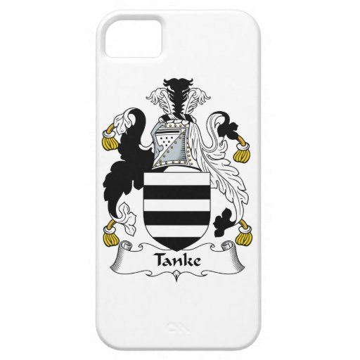 Tanke Family Crest iPhone 5 Cover