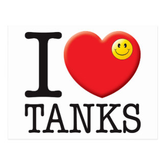 Tanks Love Post Cards