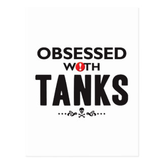 Tanks Obsessed Post Cards