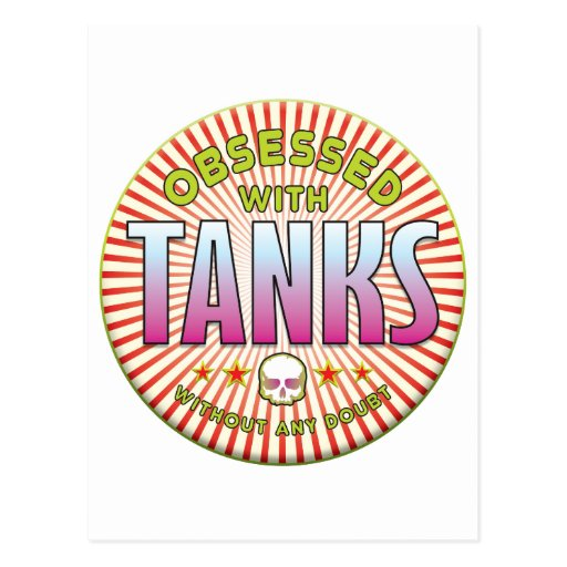 Tanks Obsessed R Post Cards