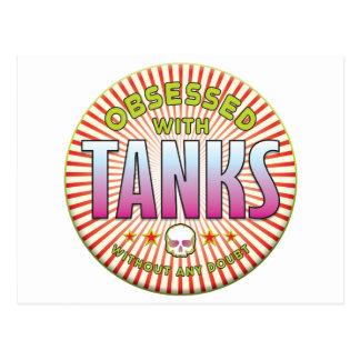 Tanks Obsessed R Postcard