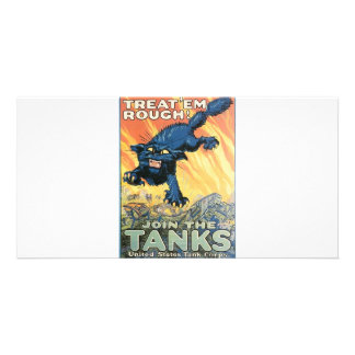 Tanks Photo Card