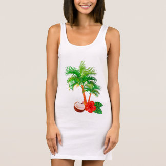 "Tanktop dress ""CARIBBEAN FLAIR """