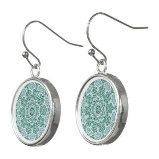 Tantalizing in teal earrings