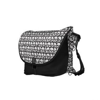 Tantric Skull Messenger Bag