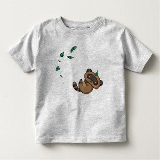 Tanuki and Leaves Toddler T-Shirt