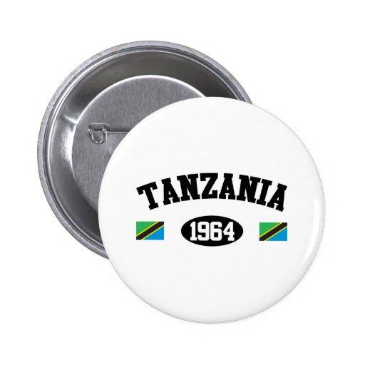 Tanzania 1964 pin