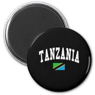 TANZANIA 6 CM ROUND MAGNET