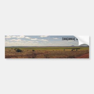 Tanzania, Africa Bumper Sticker