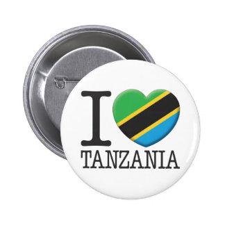 Tanzania Pinback Button