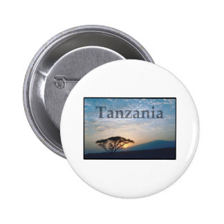 Tanzania Pinback Buttons