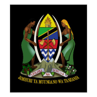 Tanzania COA Poster