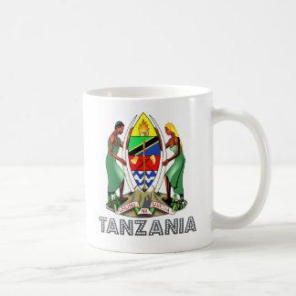 Tanzania Coat of Arms Coffee Mug