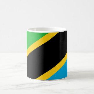 Tanzania country flag nation symbol coffee mug