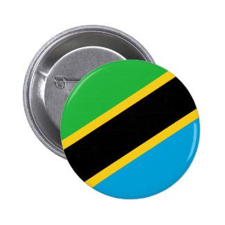 Tanzania Flag Buttons