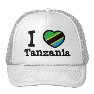 Tanzania Flag Mesh Hat