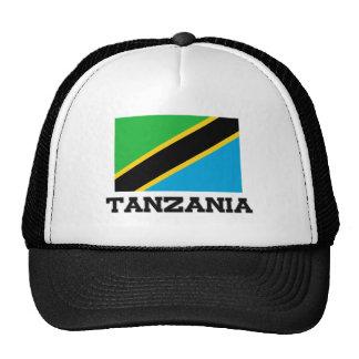 Tanzania Flag Trucker Hat