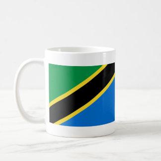Tanzania Flag ~ Map Mug