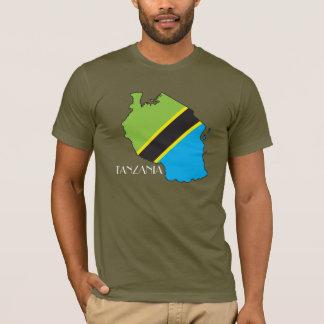 Tanzania Flag-Map Shirt