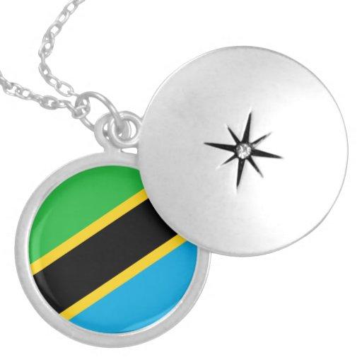Tanzania Flag Necklace