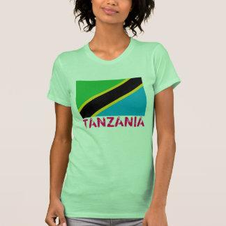 "TANZANIA- Flag t-shirt"" Shirts"