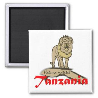 Tanzania Goodies Square Magnet