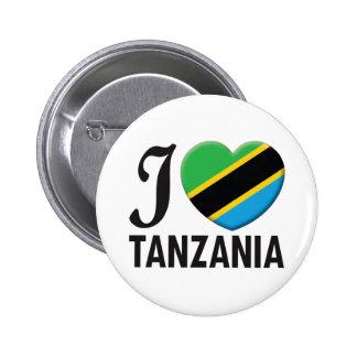 Tanzania Love Pinback Button