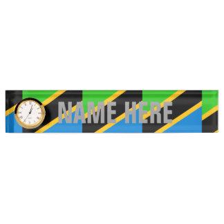 Tanzania Desk Nameplate