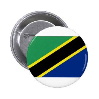 Tanzania National Flag Pinback Buttons