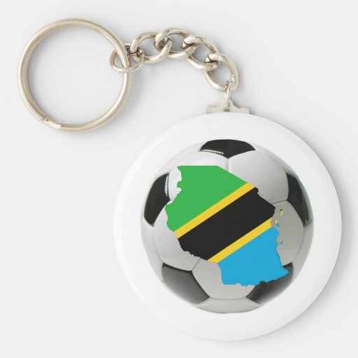 Tanzania national team key chain