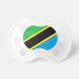 Tanzania National World Flag Baby Pacifier