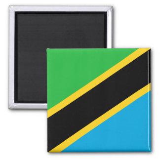 Tanzania National World Flag Magnet