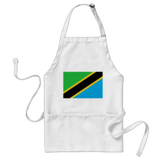 Tanzania National World Flag Standard Apron