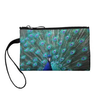 Tanzania Peacock Change Purses