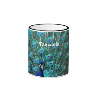 Tanzania Peacock Coffee Mugs